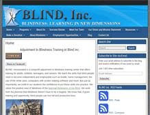 Tablet Preview of blindinc.org